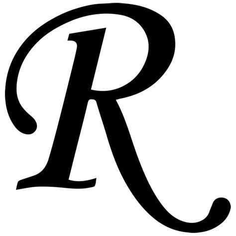 Fancy Letter R Designs   Letters
