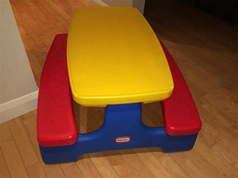 Tikes Easy Store Table by Tikes Easy Store Picnic Table Central Ottawa