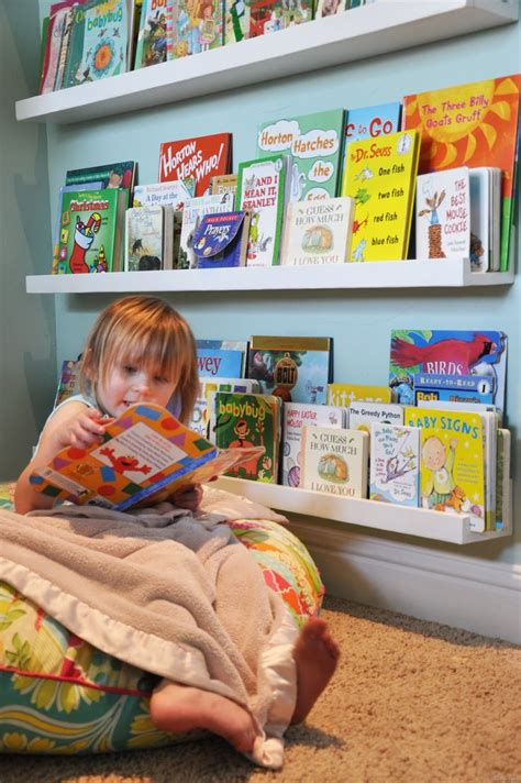 1000 ideas about kid bookshelves on