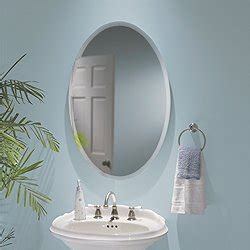 oval mirror medicine cabinet canada jensen s368244ovwh metro oval recessed and surface mount