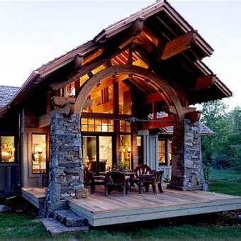 modern but rustic cabin design pictures, photos, and
