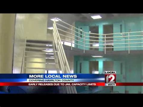 Hamilton County Justice Center Inmates Records Prisoners Getting Early Release Due To Capacity Limits