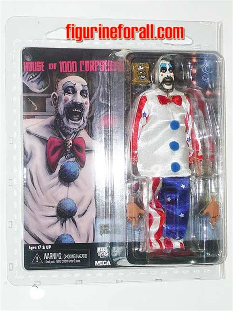 8 inch figure clothes house of 1000 corpses captain spaulding 8 inch