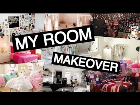 my room makeover my room makeover diy tumblr room part 1 youtube