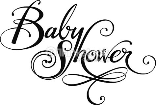 imagenes baby shower blanco y negro fiesta prenatal arte vectorial thinkstock