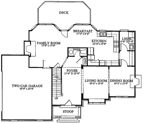 House Plans With Large Pantry by Architectural Designs