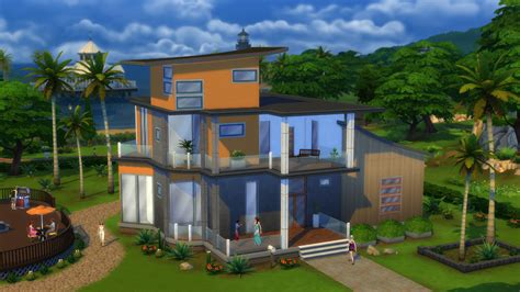 4 family homes the sims 4 build mode move entire buildings with just a