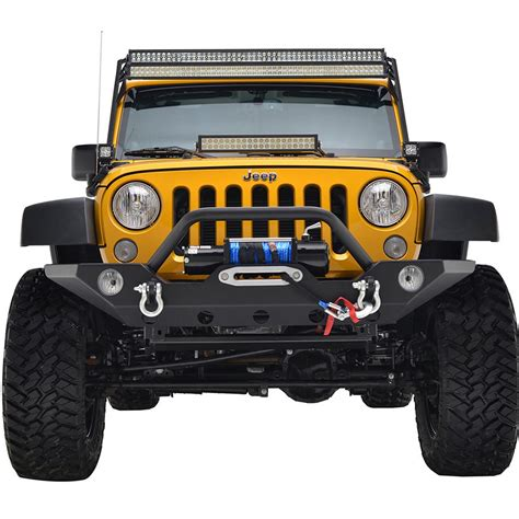 Led Light Bar Jeep Wrangler 07 16 Jeep Wrangler Jk 50 Quot Led Light Bars Mount Kit