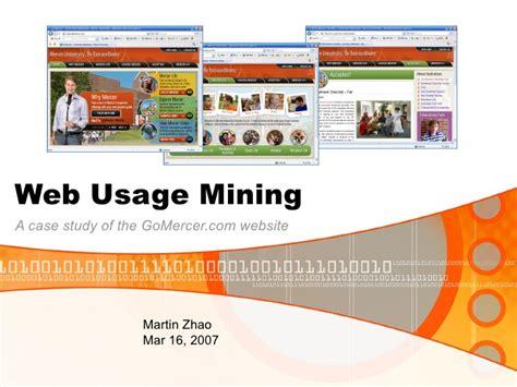 pattern discovery web usage mining ppt web usage mining ppt