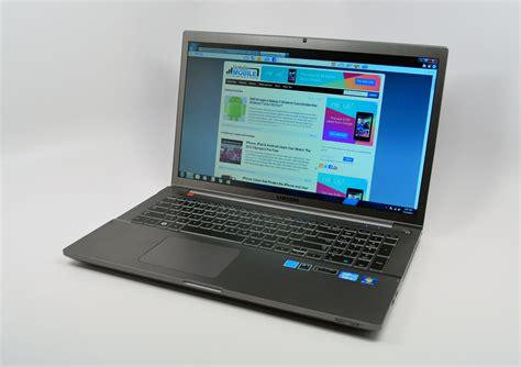 samsung 7 series samsung series 7 chronos 17 3 review