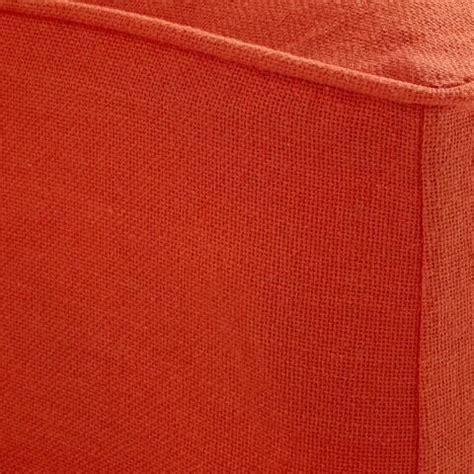 orange burlap curtains spice orange burlap mattress cover world market