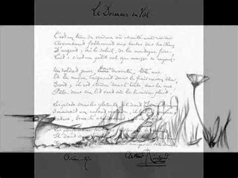 Rimbaud Le Dormeur Du Val Texte by Rimbaud Arthur Le Dormeur Du Val