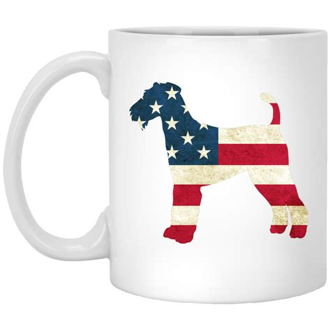 top pet gifts usa flag airedale terrier mug top pet gifts