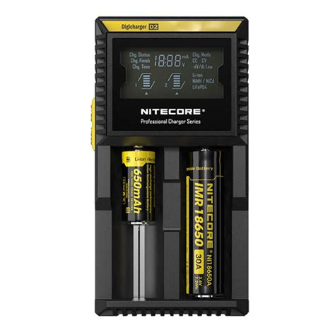 Charger Baterray Nitecore Um10 For 18650 Vape Vapor Vaping nitecore d2 intelligent digi vape 18650 battery charger us eu black