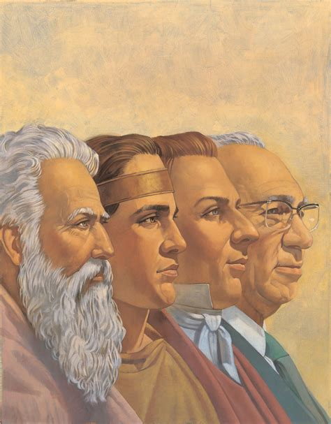 The Prophets why did book of mormon prophets speak of future events as