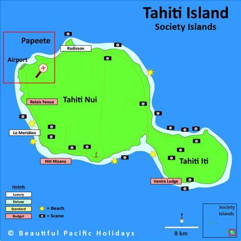map of tahiti tahiti map images frompo