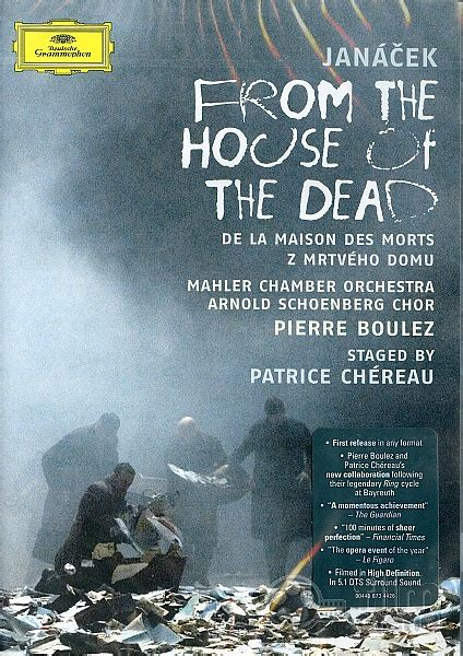 the house of the dead music leoš jan 225 ček from the house of the dead dvd