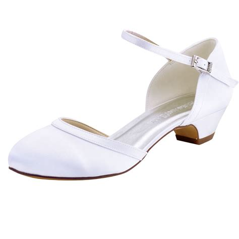 Wedding Shoes Closed Toe Ivory by Ep2001 White Ivory Bridal Closed Toe Evening Prom