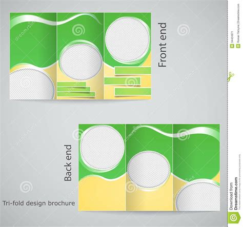 brochure design templates blank brochure template exle mughals