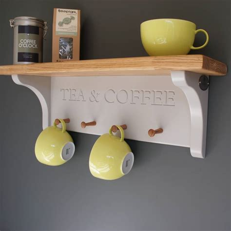 cabinet mug rack tea and coffee shelf with mug rack by chatsworth cabinets