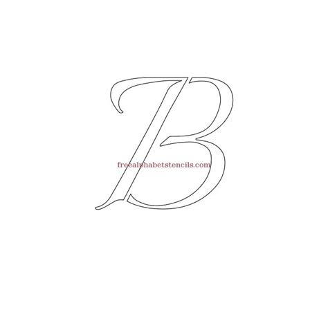 printable calligraphy number stencils joined calligraphy alphabet stencils