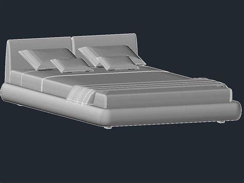 bed format download beds 3d models bed dream by poliform night