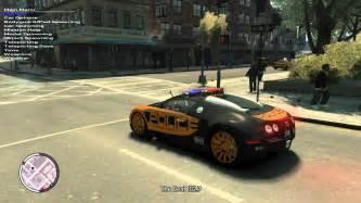 Bugatti In Gta Gta Iv Bugatti Veyron 16 4 Nfs Pursuit Mod