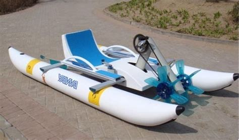 inflatable pontoon pedal boat water pedal boats