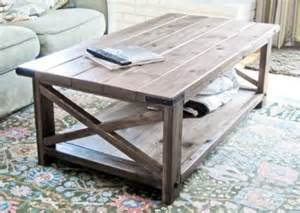 Easy Coffee Table Plans White Build A Rustic X Coffee Table Free And Easy Diy Project And Furniture Plans