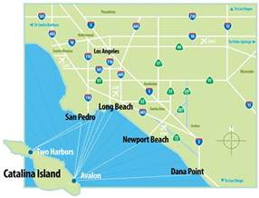 islands california coast map where is island island