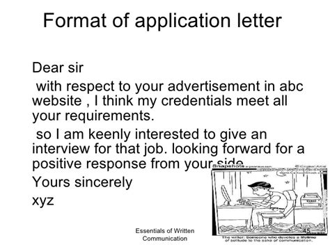 Positive Response Letter Application Business Communication