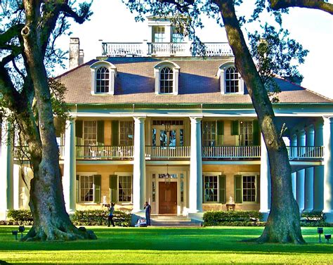 Plantation Style Home by All About Houses Southern Plantations
