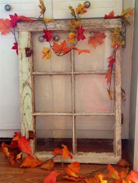 fall window decor i love fall pinterest