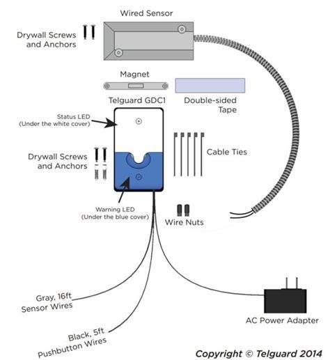 Z Wave Garage Door Sensor Telguard Universal Z Wave Garage Door Switch Gdc1