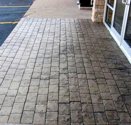 Stamped Concrete Ideas   Stamped Concrete Patio Designs