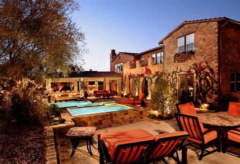 Tuscan Backyard Landscaping Ideas Ideas For A Slope Tuscan Style Backyard Landscaping Pictures Vulvar