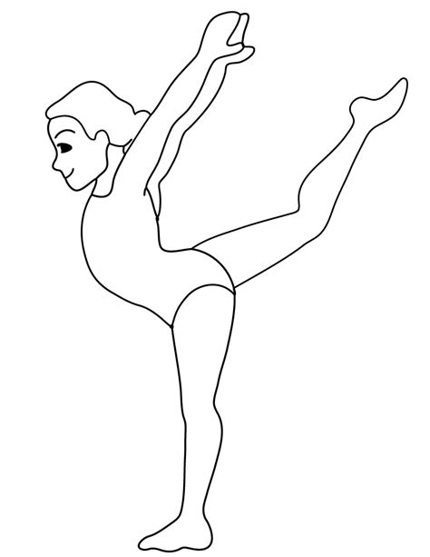gymnastics positions coloring pages free printable gymnastic pommel horse coloring page