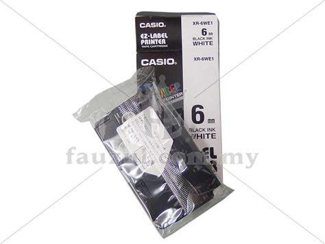 Label Cartridge Casio Ez Label 12mm casio ez label 6mm xr6we1 fauzul enterprise