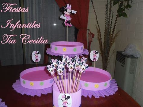 Cupa Cake Stand Paper Sofia Pink como hacer bandejas para cumplea 241 os imagui decoracion