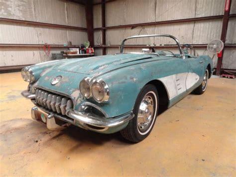 1958 corvette restoration 1959 corvette restoration project c1 ncrs needs work ncrs