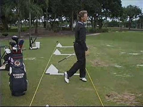 bernhard langer golf swing bernhard langer slow motion swing golf videos from