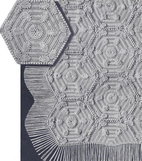 Promo Bedong 4 In 1 100 Cotton Motif Lucu vintage crochet pillow pattern motif bedspread ebay