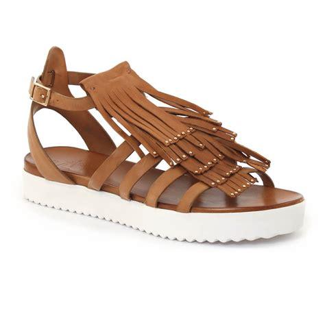 femme plus gibara cuoio sandales marron printemps 233 t 233 chez trois par 3
