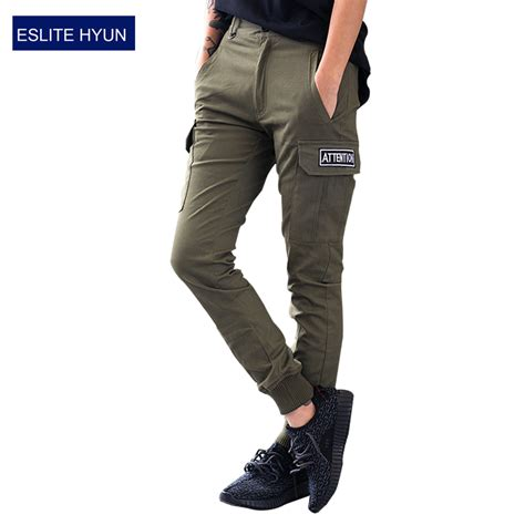 aliexpress joggers mens joggers pants hip hop skinny camouflage men pants