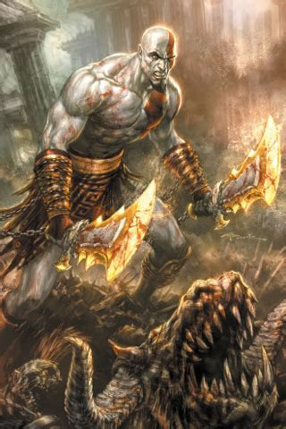 god of war iphone wallpaper | click here for more god of