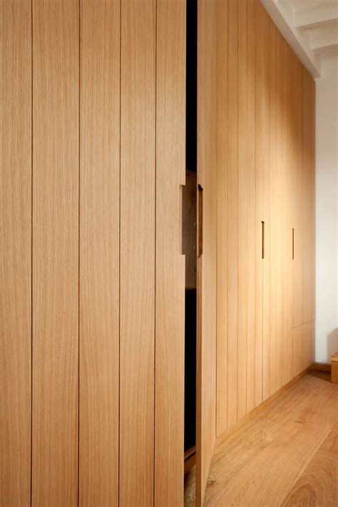 Cupboard With Doors - bespoke oak cupboards with routed grooves wardrobe and
