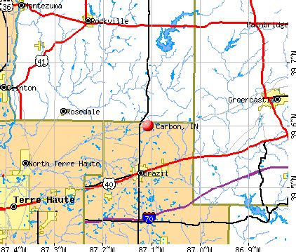 carbon, indiana (in 47837) profile: population, maps, real