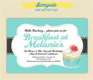 invitations templates 10 wonderful breakfast invitation templates free