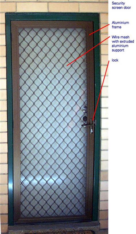 How To Install A Security Door by Security Screen Doors Install Security Screen Door