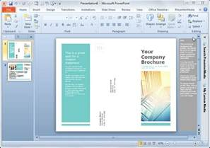 powerpoint brochure template simple brochure templates for powerpoint powerpoint